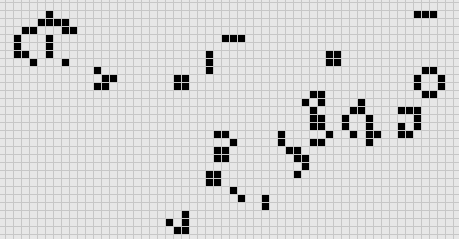 Simulation of John Conway's Game of Life